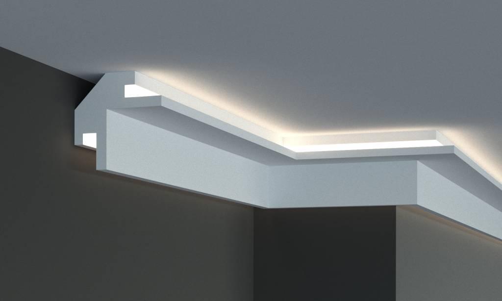 tesori led sierlijst voor indirecte verlichting xps kd203 95 x 95 mm lengte 115 m