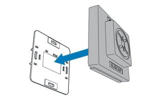 Klikcaps Klikcaps voor afdekken stopcontact, enkel model per stuk