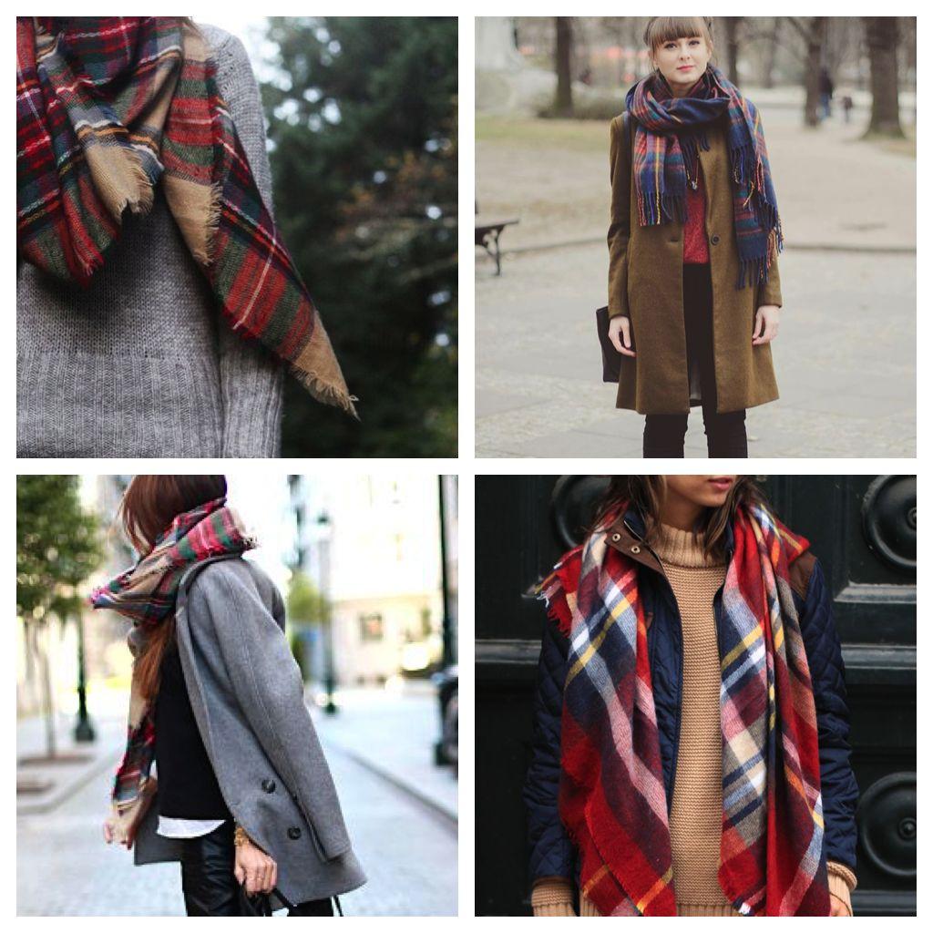 TREND | Schotse ruit sjaals
