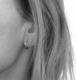 Oorringen zilver 12 mm