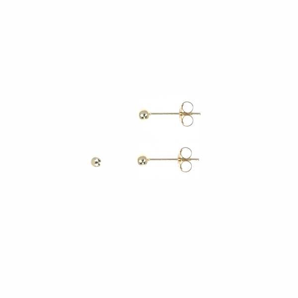 Ball studs goud 1,5 mm