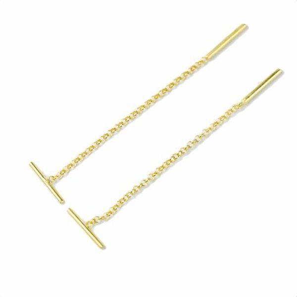 Lunai Jewelry Oorbellen goud