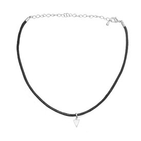 Oh So HIP Choker Triangle zilver