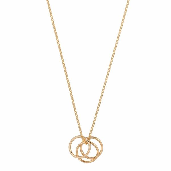 Club Manhattan Ring it Up Necklace goud