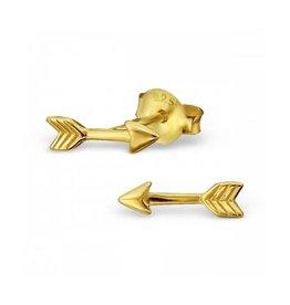 Oorbellen pijltjes goud