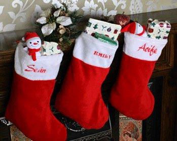 Christmas Stocking (Embroider & Print)