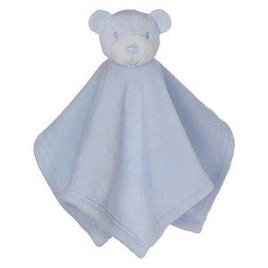 Embroider Buddy Mini Blankey Bear Blue lang