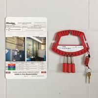 Verriegelungsgriff für Vorhängeschlösser S125