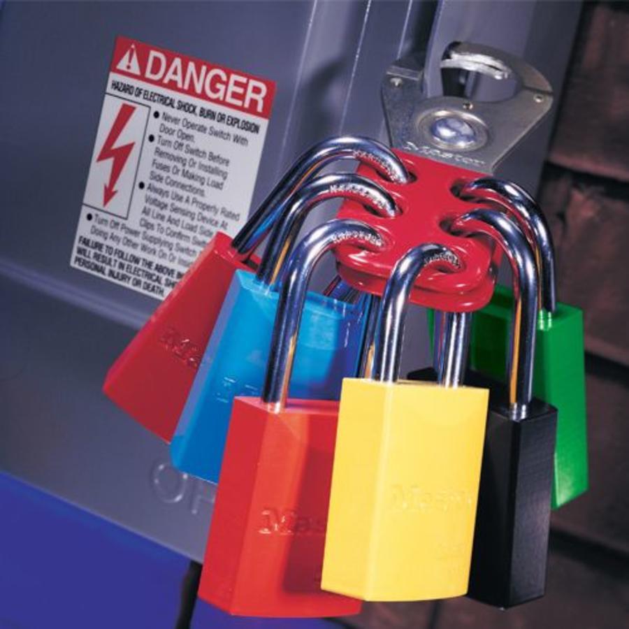 Lockout hasp steel 420