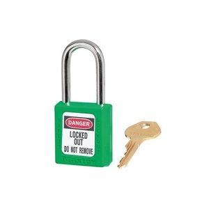 Master Lock Zenex safety padlock green 410GRN - 410KAGRN