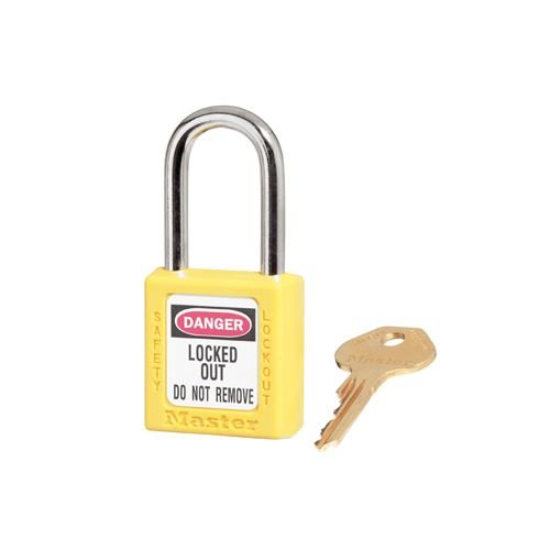 Zenex safety padlock yellow 410YLW