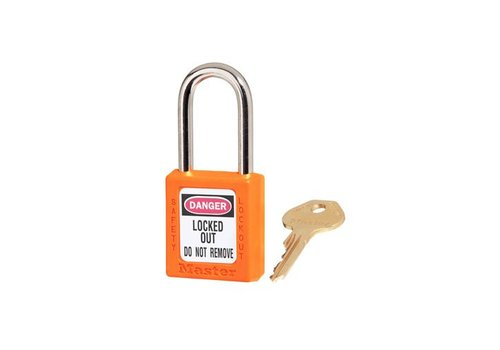 Zenex veiligheidshangslot oranje 410ORJ