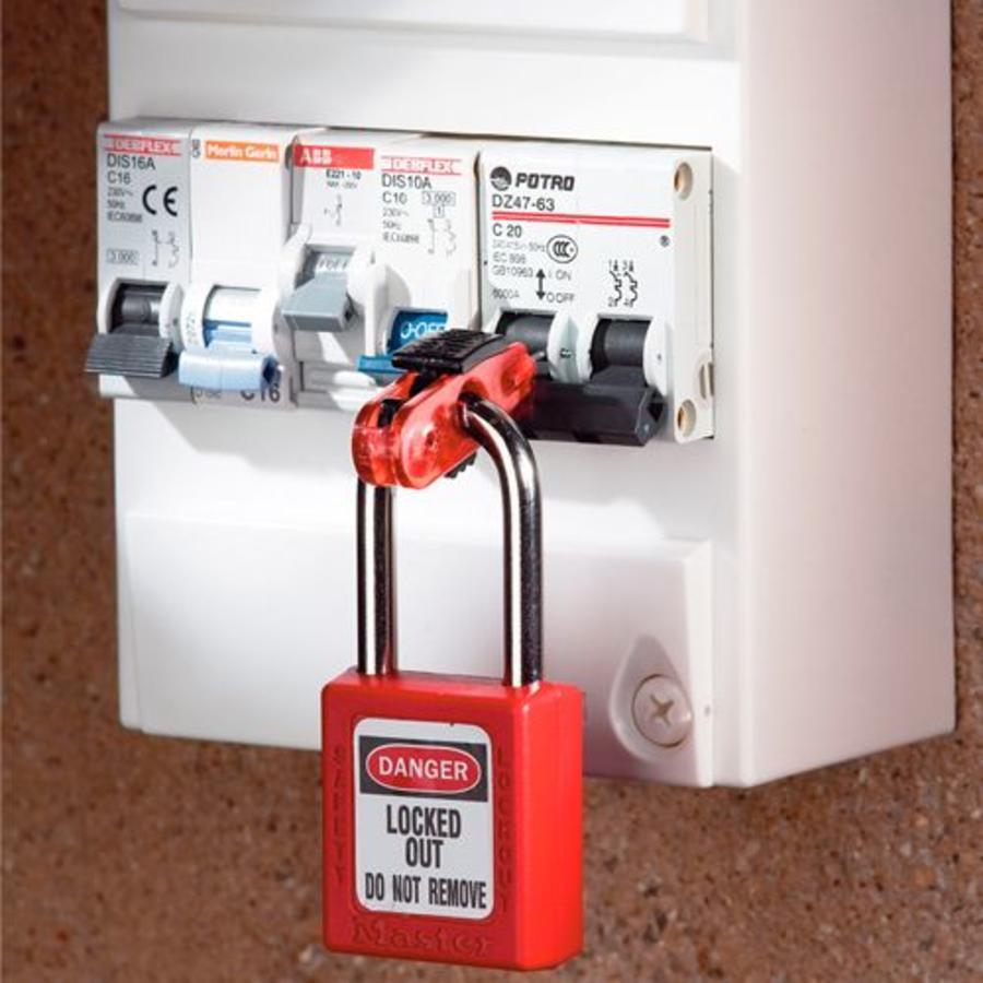 Leitungsschultzschalter-Verriegelung < 11mm S2390