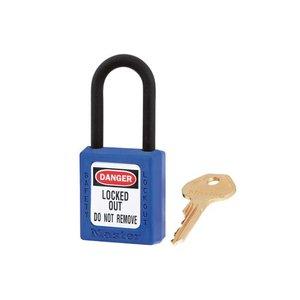 Master Lock Zenex veiligheidshangslot blauw 406BLU - 406KABLU