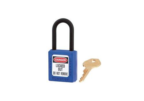 Zenex veiligheidshangslot blauw 406BLU