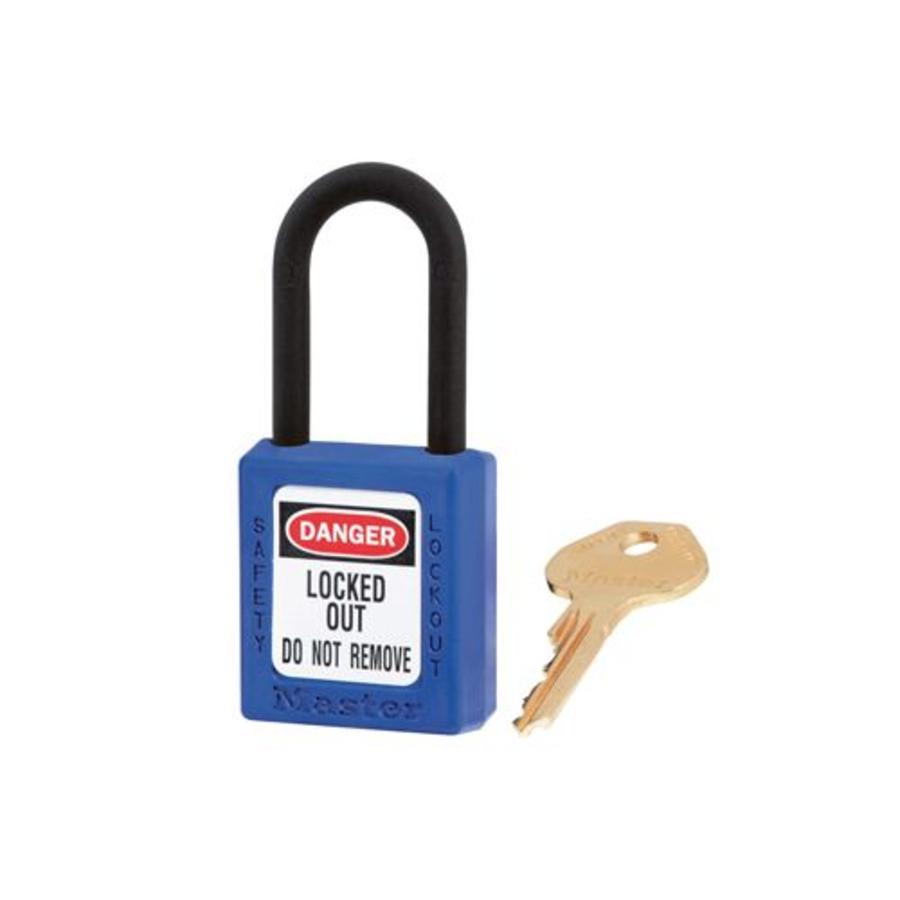 Zenex veiligheidshangslot blauw 406BLU - 406KABLU