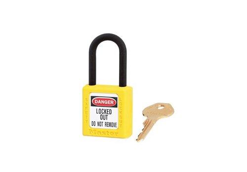 Zenex Sicherheits-vorhängeschloss geel 406YLW