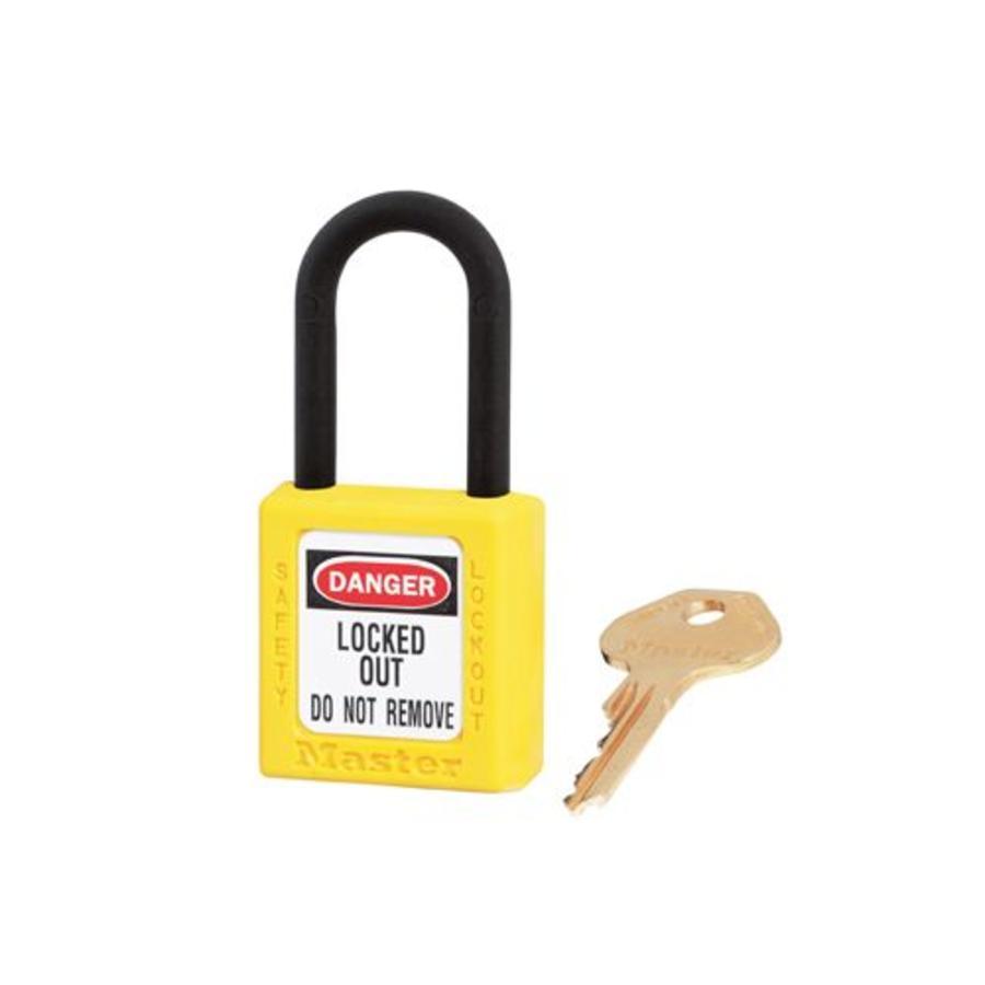 Zenex safety padlock yellow 406YLW - 406KAYLW