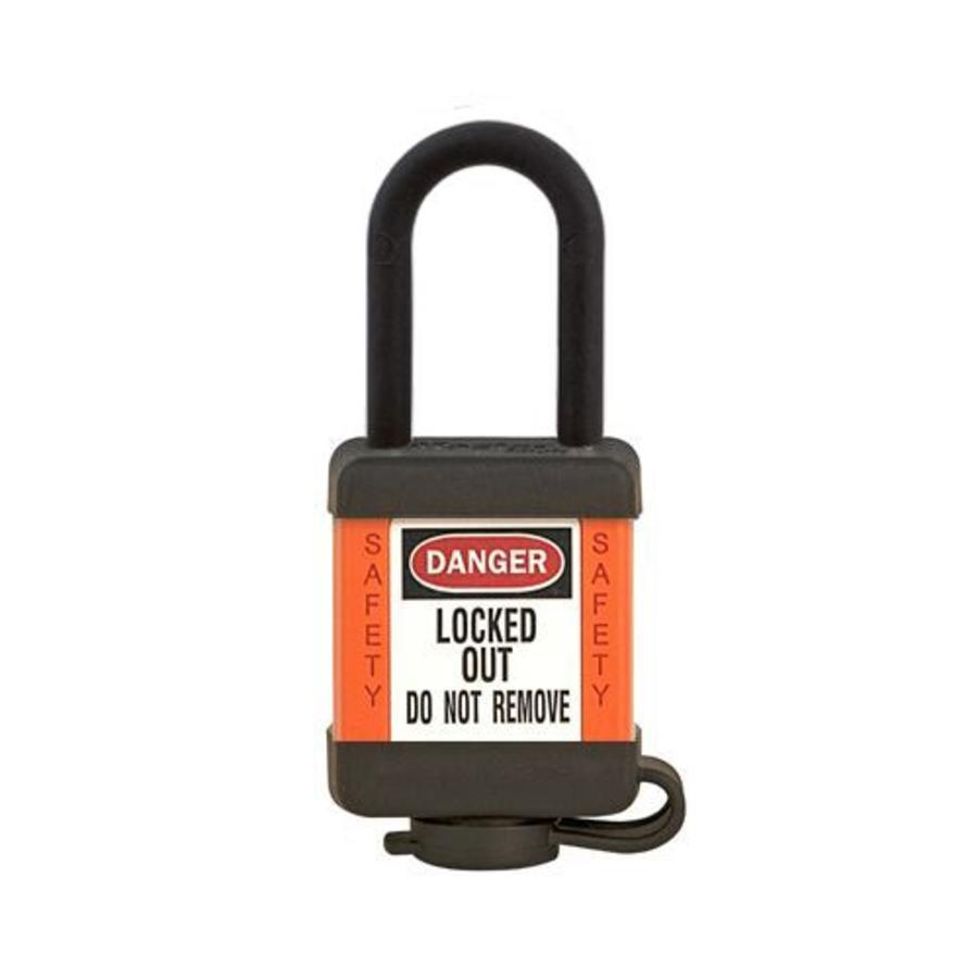 Zenex Sicherheits-vorhängeschloss orange 406ORJ - 406KAORJ