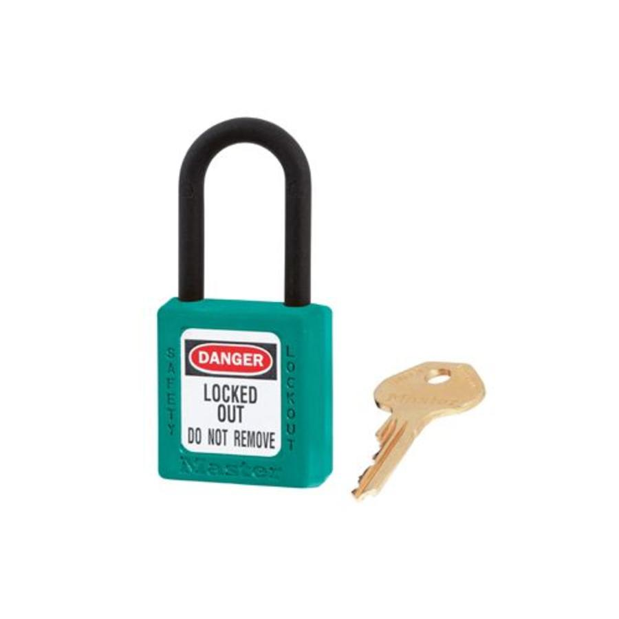 Zenex safety padlock teal 406TEAL - 406KATEAL