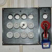 Insulation plugs for fuses incl. padlock adaptor
