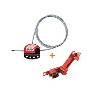 Master Lock Universele vergrendeling voor kogelkranen S806-491B