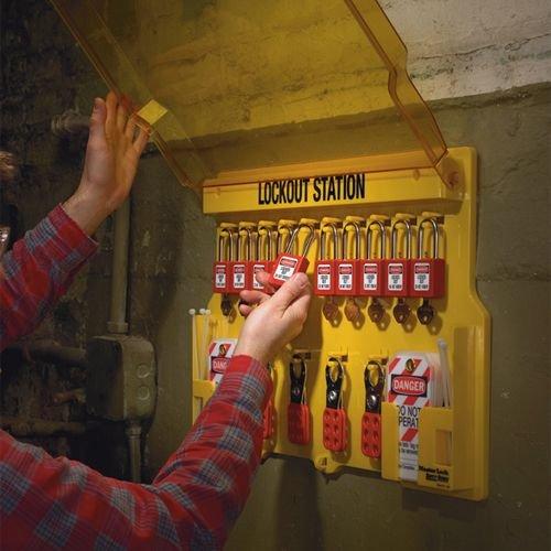 Lockout Stationen gefüllt