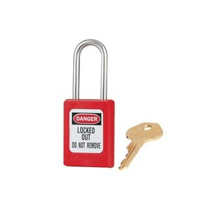 Master Lock Zenex veiligheidshangslot rood S31RED - S31KARED