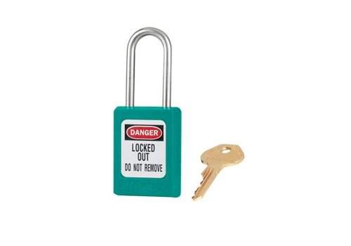 Zenex safety padlock teal S31TEAL