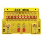 Master Lock Lock-out station 1483BP410
