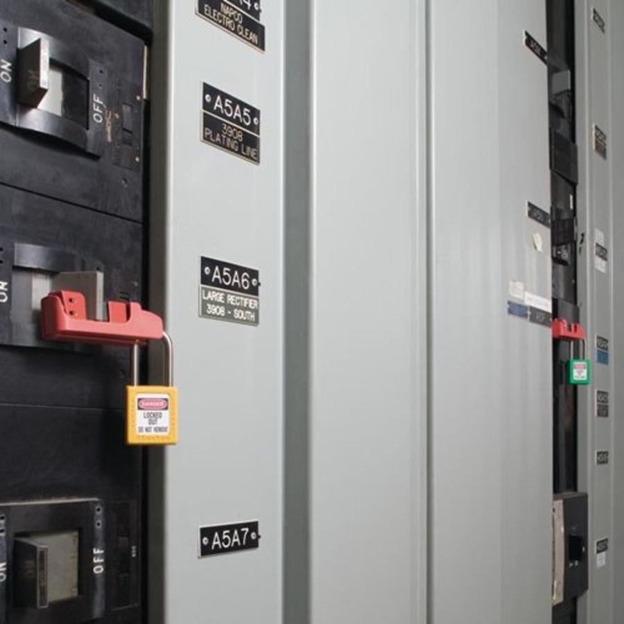 Leitungsschultzschalter-Verriegelung 491B