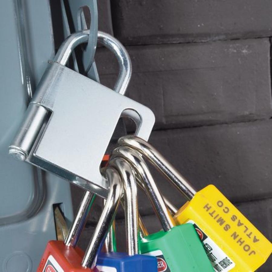 Lockout hasp steel 418y