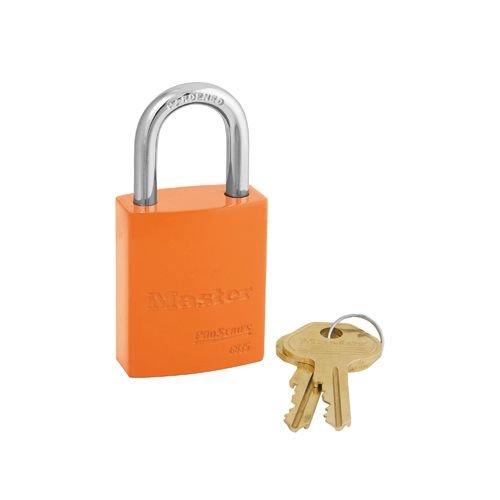 Aluminium padlock orange 6835ORJ