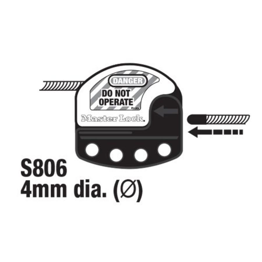 Universalschließung für Drosselventilen S3921
