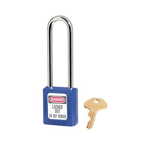 Zenex safety padlock blue 410LTBLU