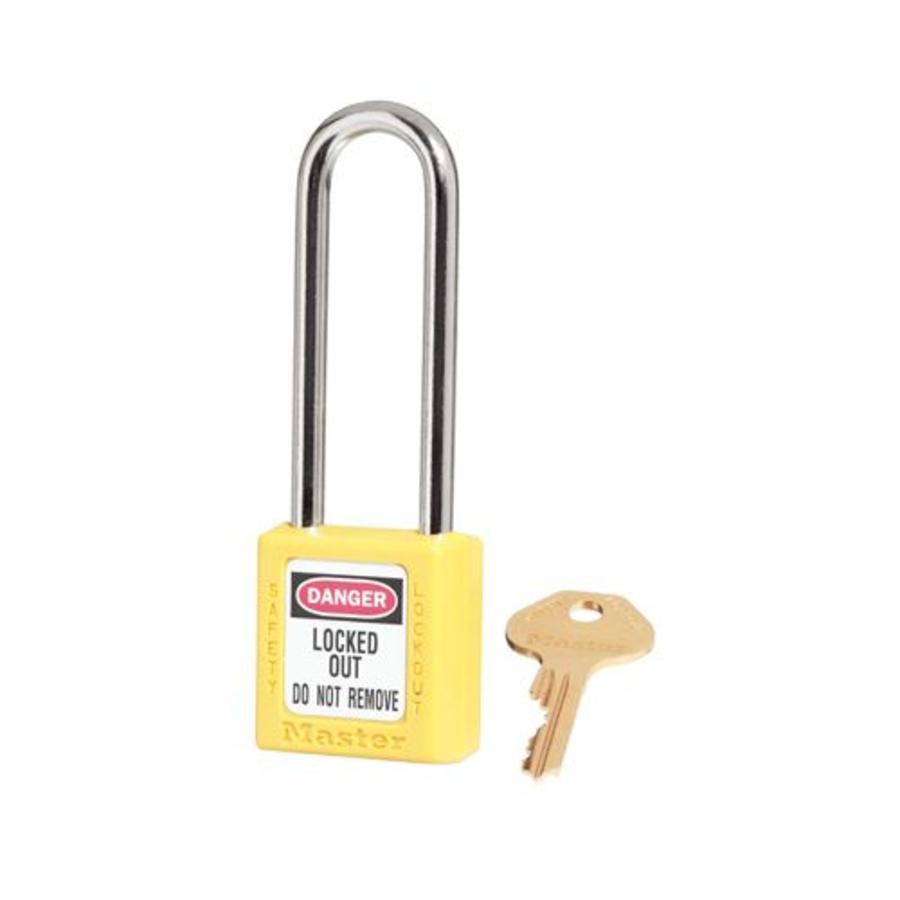Zenex safety padlock yellow 410LTYLW
