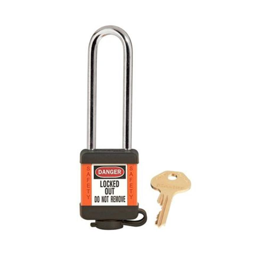 Zenex safety padlock orange 410LTORJ