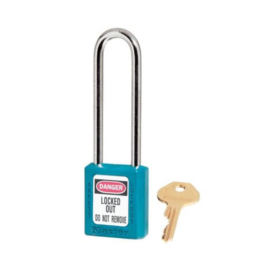 Zenex safety padlock teal 410LTTEAL