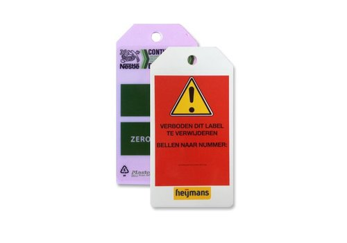 Safety tags custom Guardian Extreme S90001