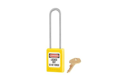 Zenex safety padlock yellow S31LTYLW