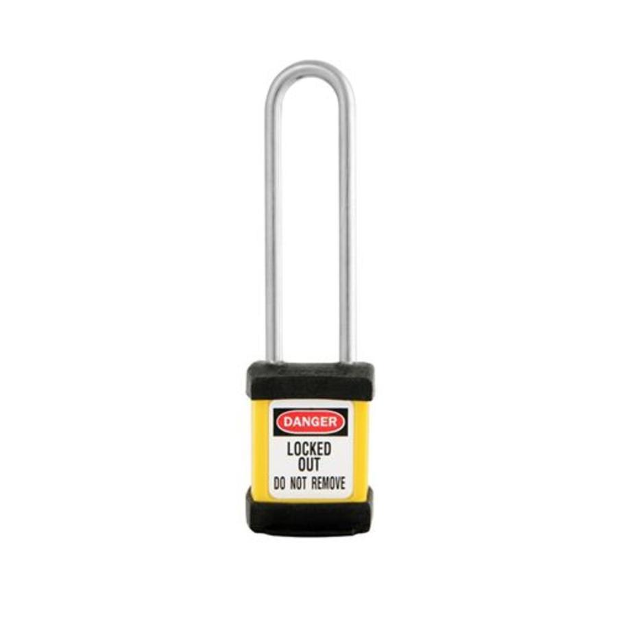 Zenex veiligheidshangslot geel S31LTYLW