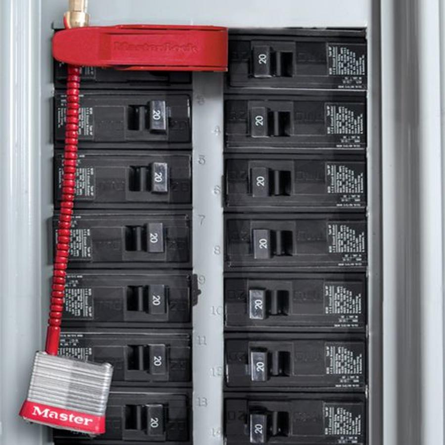 Vorhangeschlöss für Leitungsschutzschalter 7C5RED