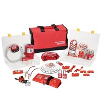 Filled lock-out toolbox 1458VE410