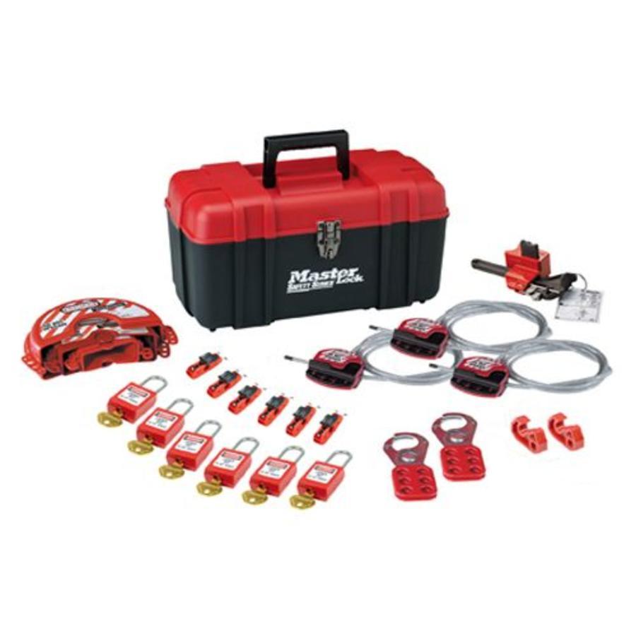 Filled lock-out toolbox S1117VES31KA