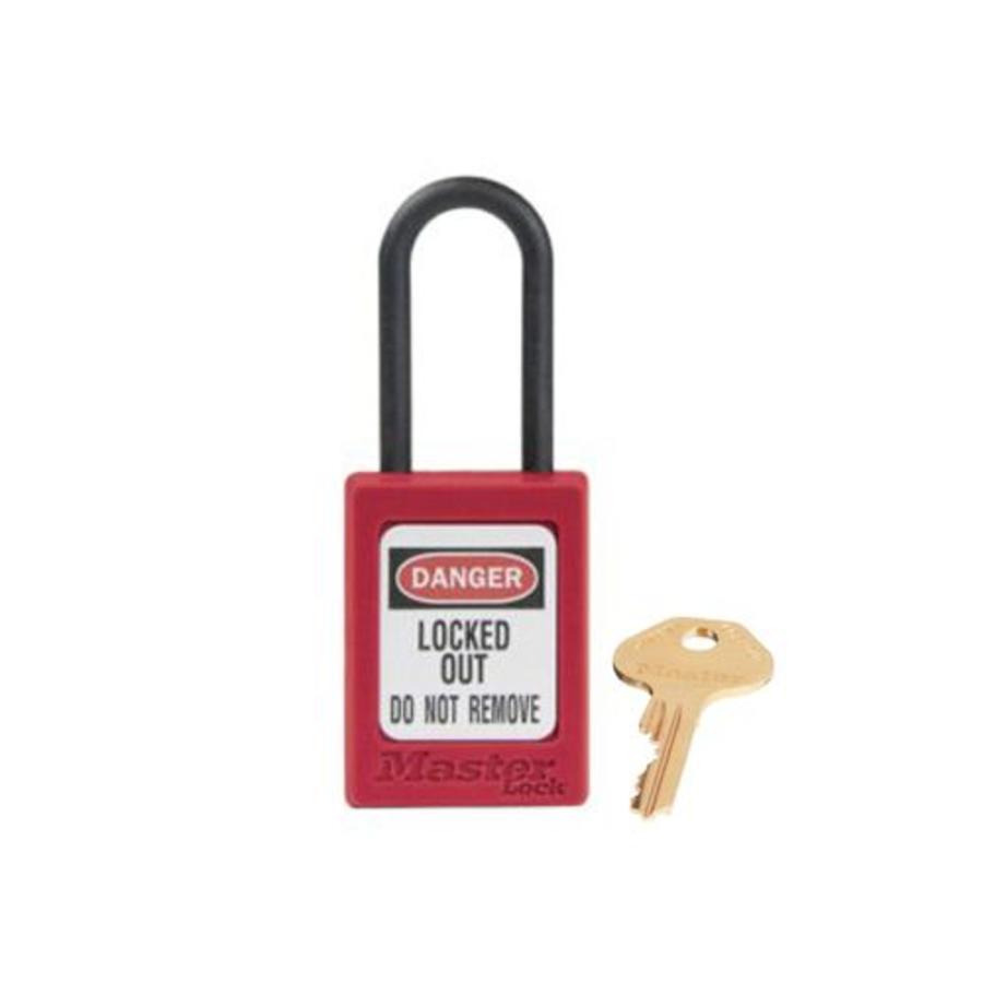 Zenex veiligheidshangslot rood S32RED - S32KARED