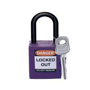 Brady Nylon veiligheidshangslot paars 813640
