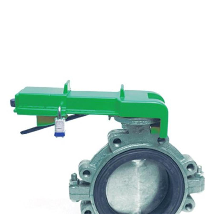 Butterfly valve lockout 256962