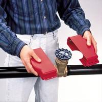 Adjustable valve lock-out 064057