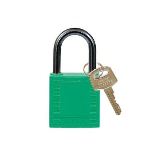 Nylon Kompakte Sicherheits-vorhängeschloss grün 814118