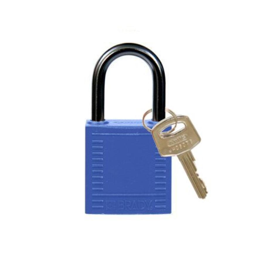 Nylon Kompakte Sicherheits-vorhängeschloss blau 814114